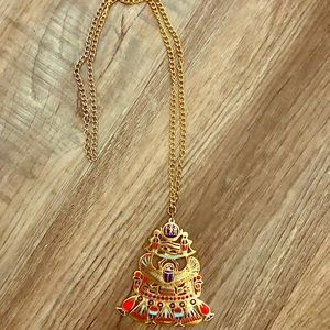 Jewelry - Vintage Egyptian Scarab Necklace